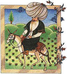 220px-Nasreddin_(17th-century_miniature)